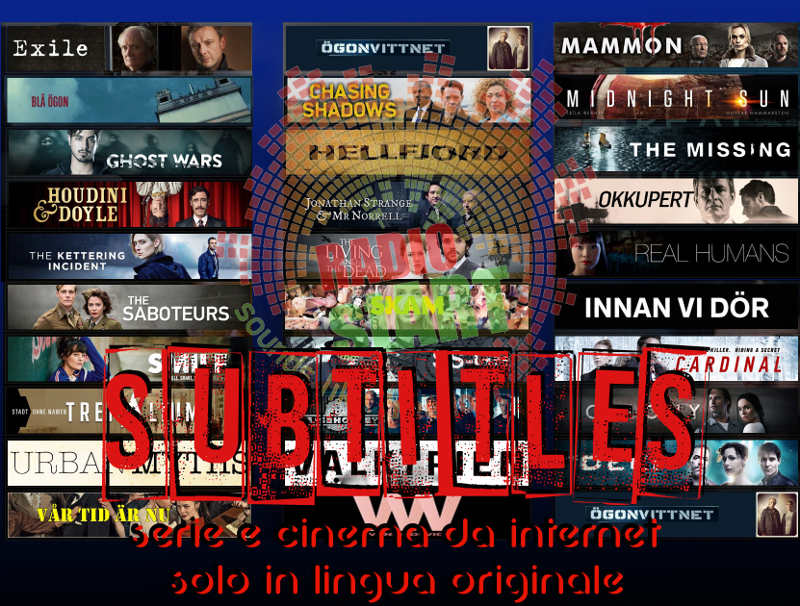 subtitles serie e cinema da internet solo in lingua originale