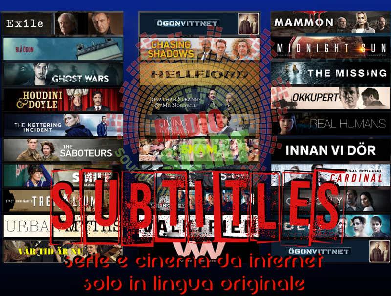subtitles serie e cinema da internet solo in lingua originale
