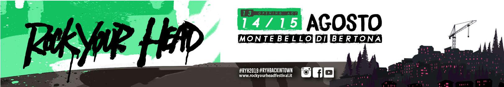 Rock Your Head Festival Montebello di Bertona 2019